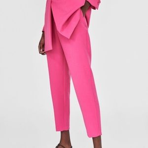 NWT Zara High Waist Pants